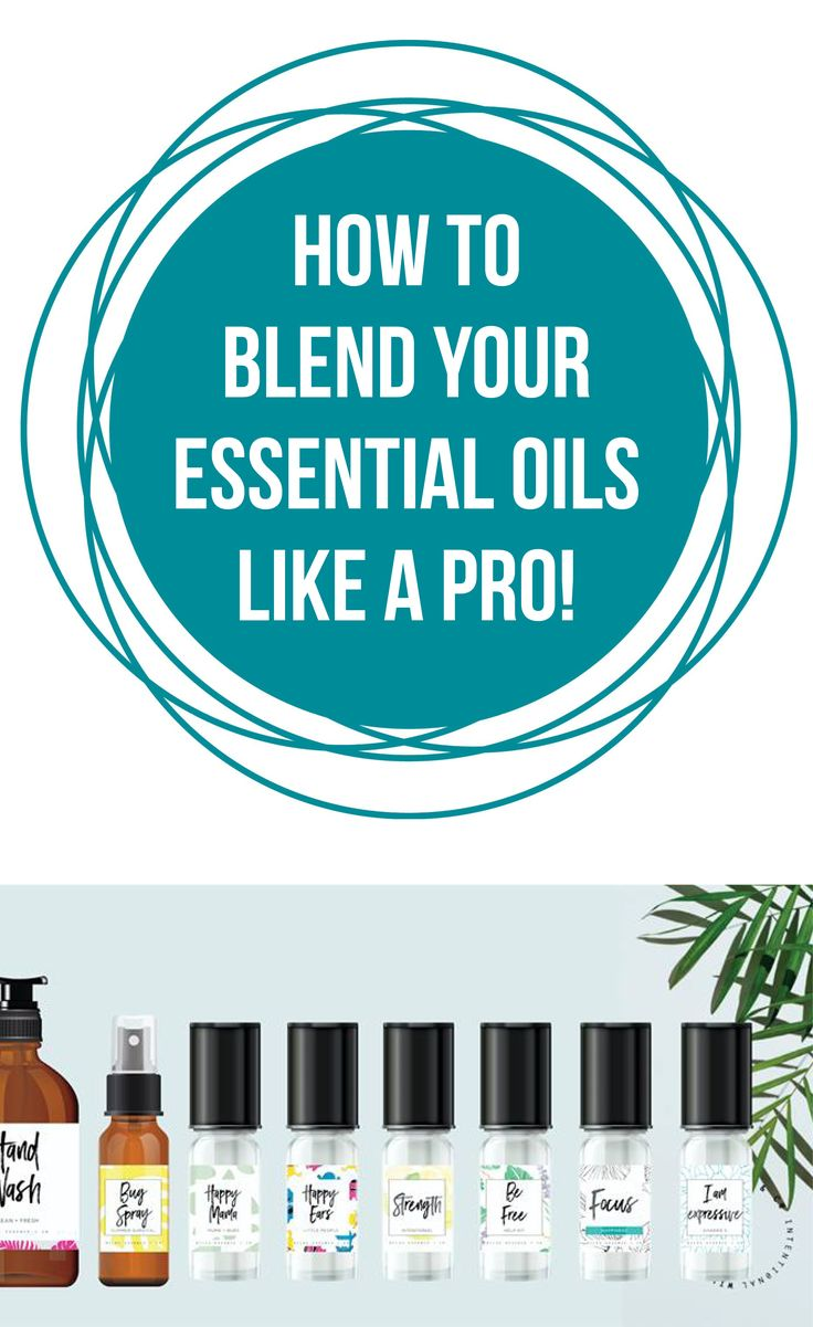 How to Blend Your Essential Oils Like a Pro | Happy Belly Healthy Mind