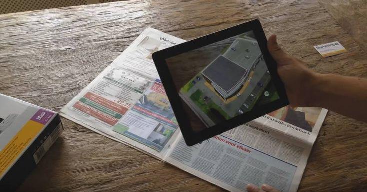 Quando a realidade aumentada encontra livros e jornais