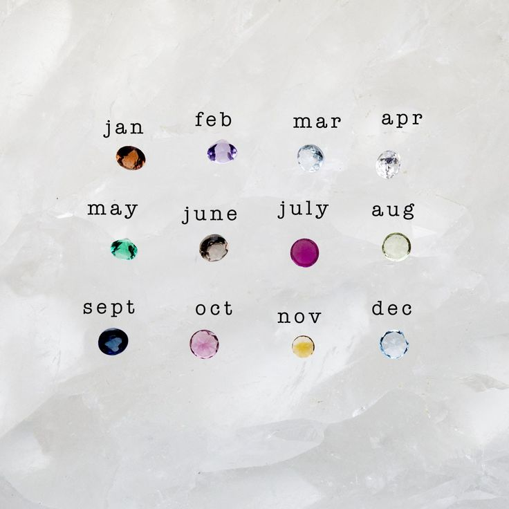 Personalized Birthstone Ring {Sterling Silver & 10K Gold}