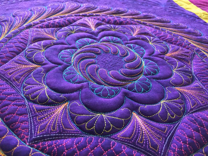Patsy Thompson Designs, Ltd. » Trapunto + Ruler Work Quilting = Incredible Texture