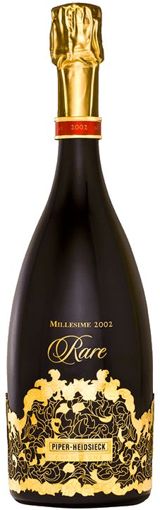 Piper-Heidsieck Rare Millesime 2002 | This Champagne is one of a kind. Flavors include mango, kiwi, smoked tea, and cocoa.