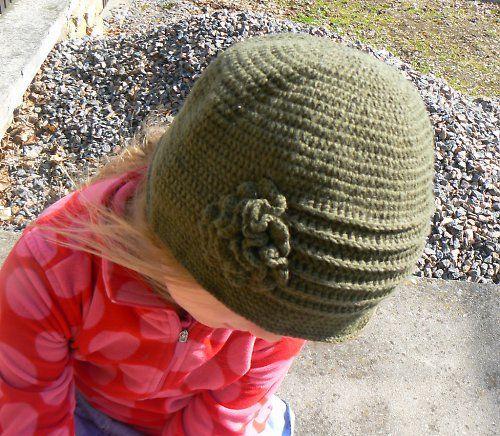 klobouček retro lesní.