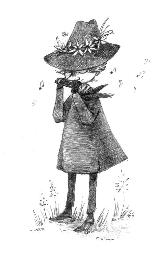 moomin - snufkin. by MadH