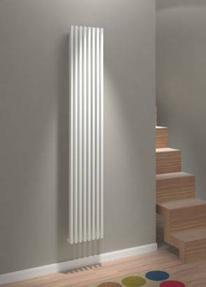 Kudox Xylo Vertical Radiator, White, 5060235342004 ; 5060235341984 ; 5060235341946 ; 5060235341960
