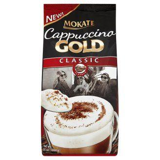 Mokate Cappuccino gold classic instantní kávový nápoj v prášku 1000g