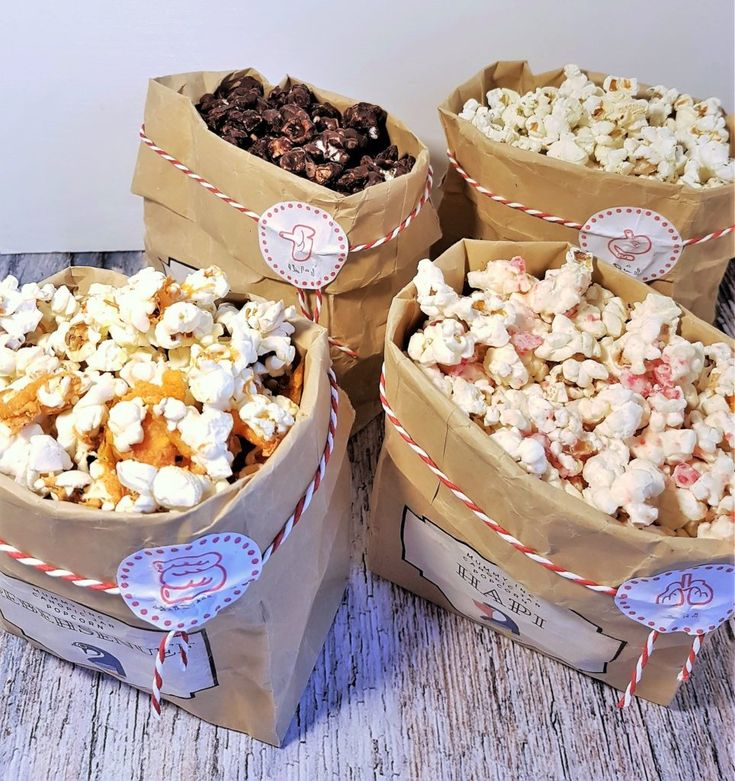 Flavoured popcorn inspired by The Mummy