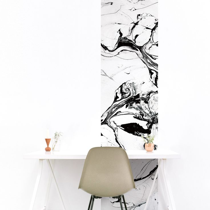 papier peint effet pierre noir et blanc, marbre, marble.  #marble #marblewallpaper #magneticwall #marbre #papierpeint #wallpaper