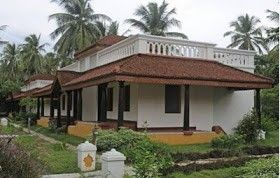 Traditional kerala style house