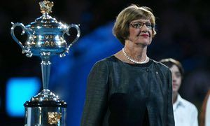 Australian tennis great Margaret Court