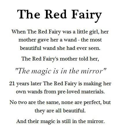 The story of The Red Fairy