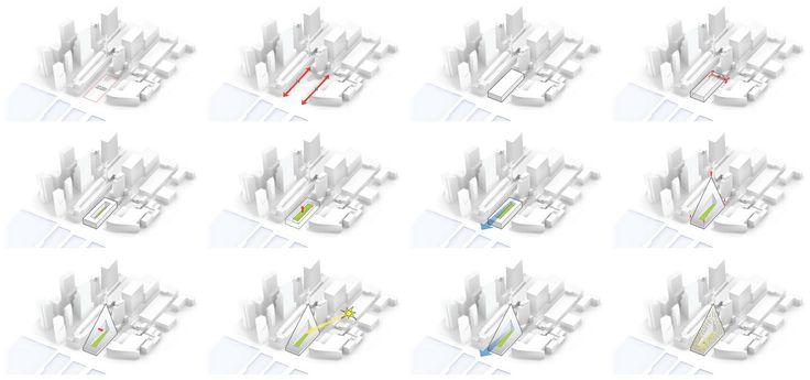 massing concept diagram    w 57th st    big