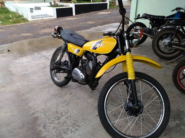 CLASSIC TRAIL: Yamaha DT100 Years 1977 - TANJUNG TABALONG