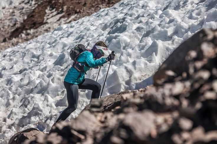 Fernanda Maciel em busca do recorde no Monte Aconcágua - TripZone. Por © Gustavo Cherro / Red Bull Content Pool – www.redbull.com.br