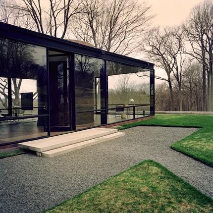 Glass House. Philip Johnson. Jonas Ingerstedt