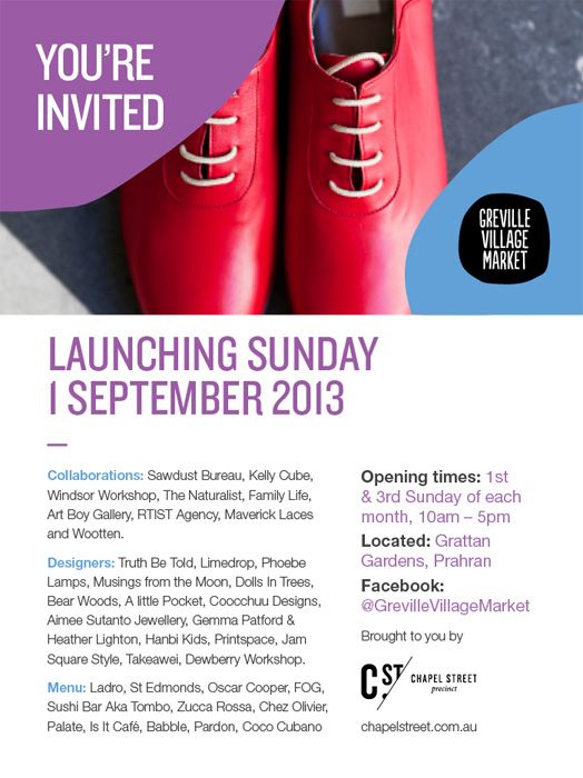 Art, design, fashion, diy, food, music, shopping, sunshine, Melbourne. What more do you need?