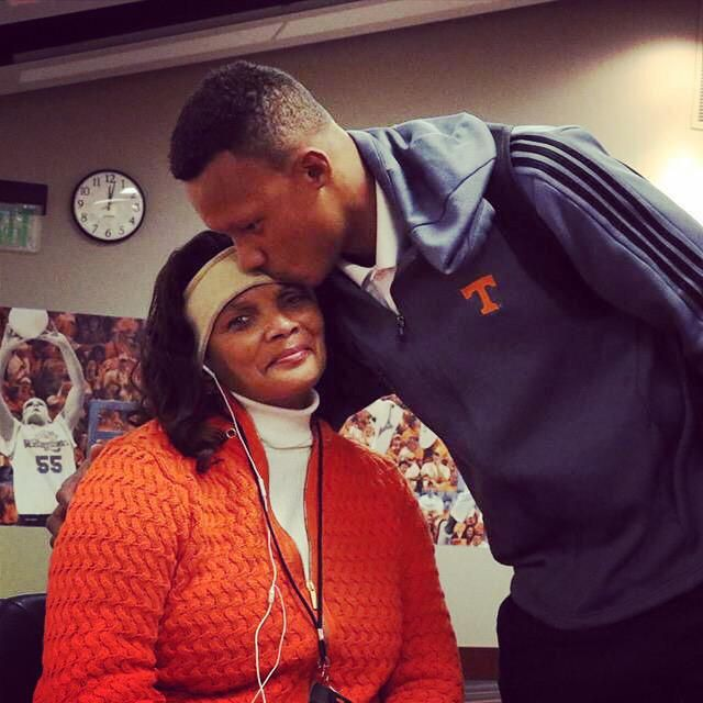 Tennessee QB Josh Dobbs and his Mom ~ Check this out too ~ RollTideWarEagle.com SEC Football stories that inform and entertain and Train Deck to learn the rules of the game you love. #Collegefootball Let us know what you think. #Vols #CFB #SEC
