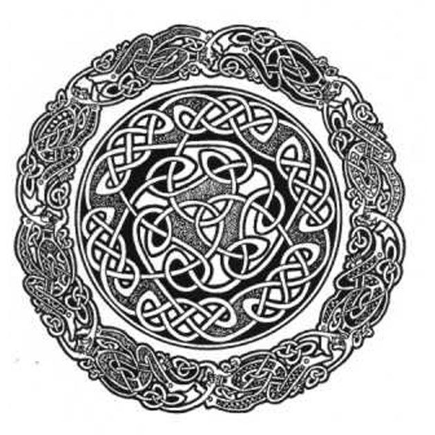 Tatuaże Celtyckie - Celtycka plecionka