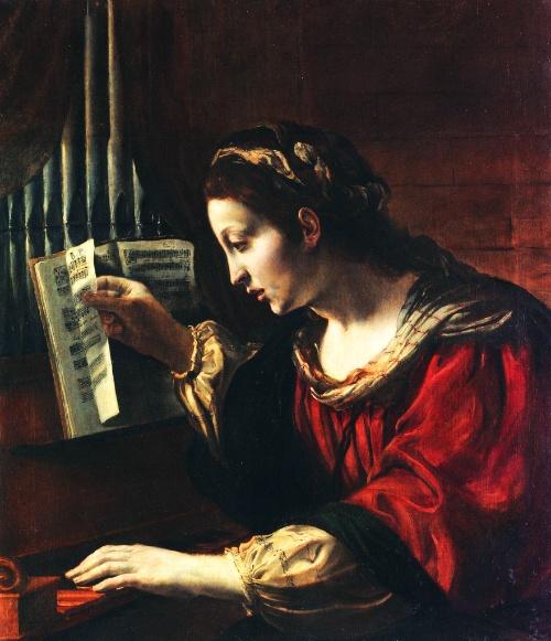 Orazio Borgianni — Santa Cecilia [ca. 1610]