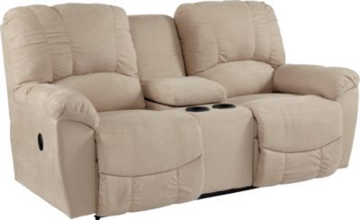 Check out what I found at La-Z-Boy! Hayes La-Z-Time® Full Reclining Loveseat with Middle Console