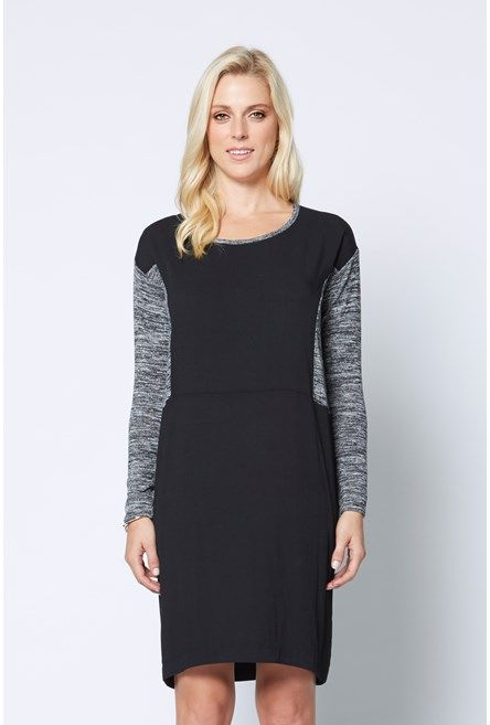 Marle Knit Cocoon Dress