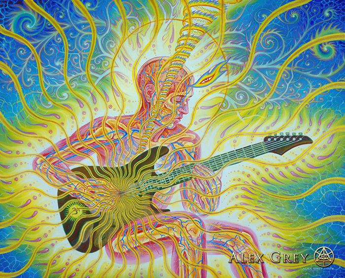 Bond - Alex Grey