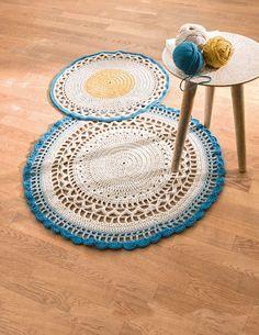 #DIY : Réalisez un tapis au crochet !