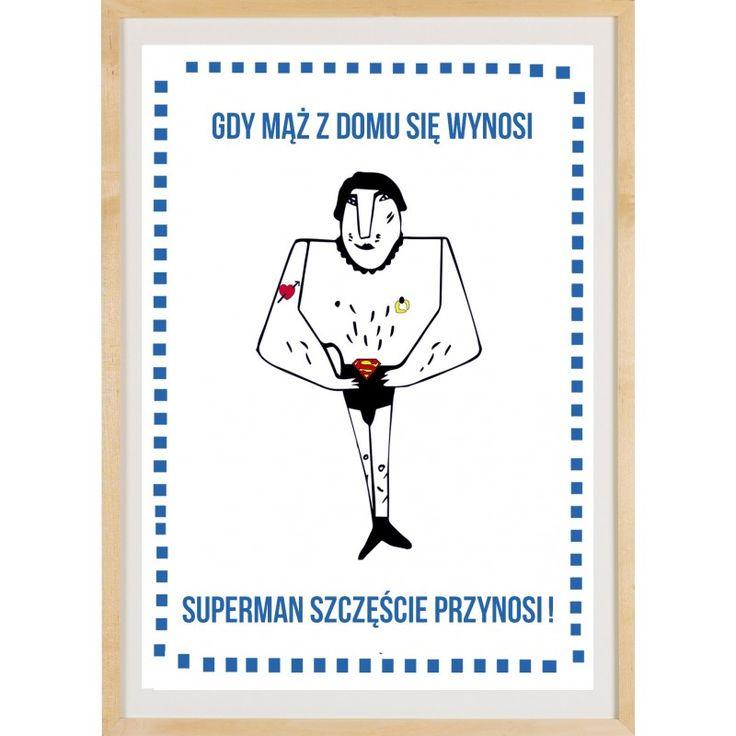 PRINT MAKATKA SUPERMAN - Lady Tatu