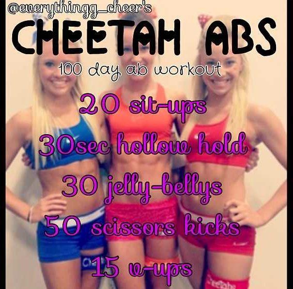 Cheer Athletics Cheetah girls abs! #CA #cheetahs