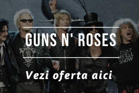 Concerte noi in Europa: Scorpions, Guns N' Roses, Michael Buble, Ozzy Osbourne