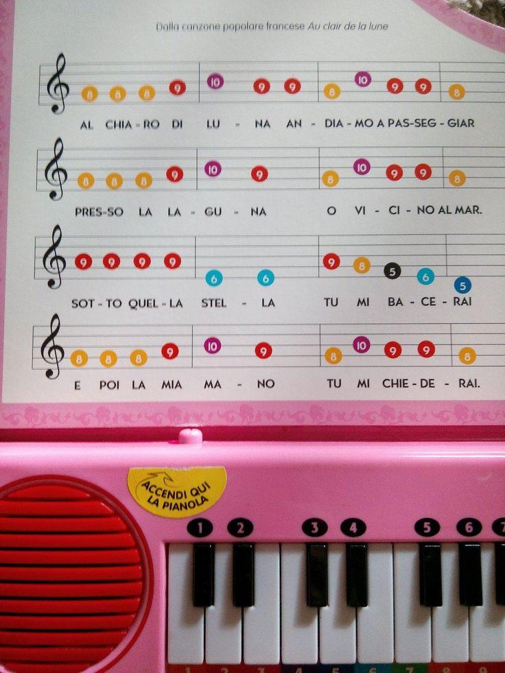 Máte noty na detské piano? - Na hranie a šport