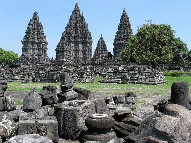 Candi Prambanan - Java - Indonesia