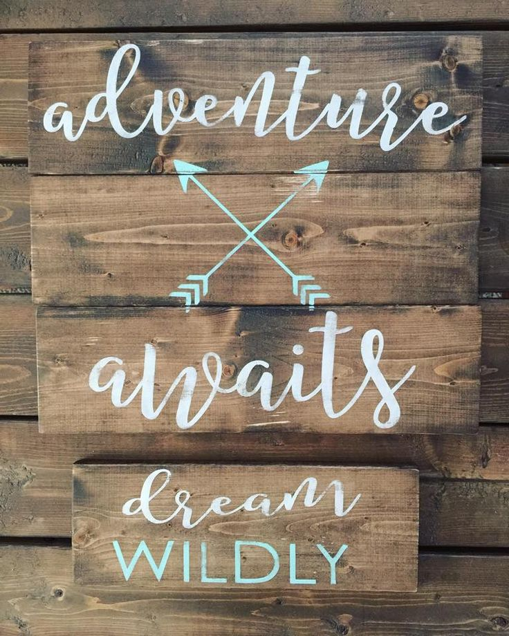 Pallet sign reclaimed wood diy pallet art rustic for Home decor quotes signs