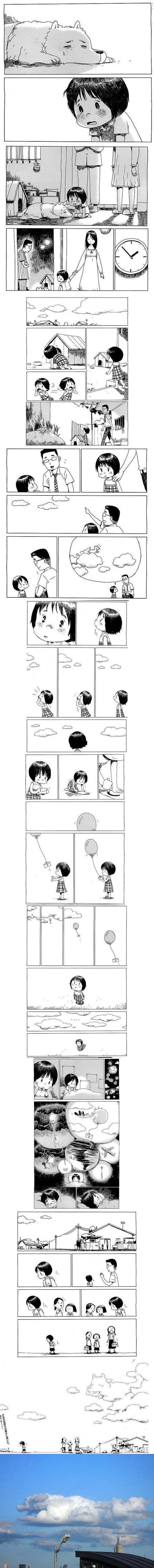 Little Girl & Dog Story