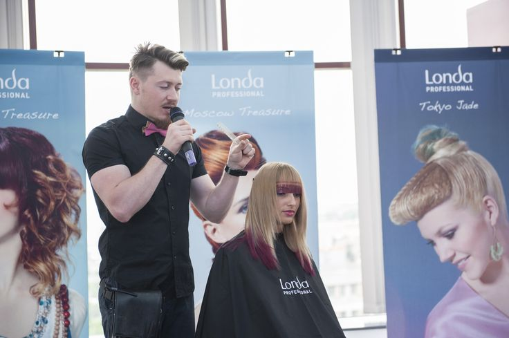 That's stunning: NEW Londa Professional hairstyles & looks have been presented in Romania! #londahappymoments #event #show