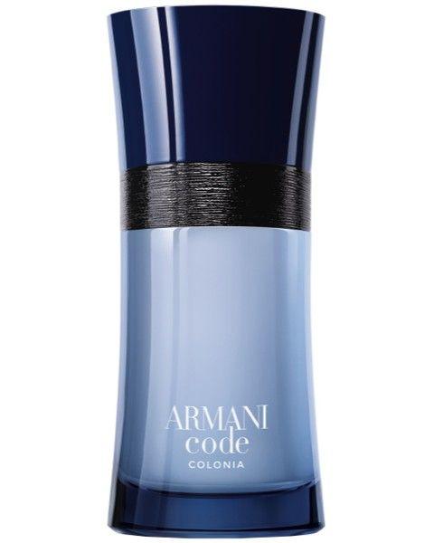 Neuer Herrenduft von Georgio Armani: Code Homme Colonia Eau de Toilette Spray. Jetzt günstig bei www.parfum.de
