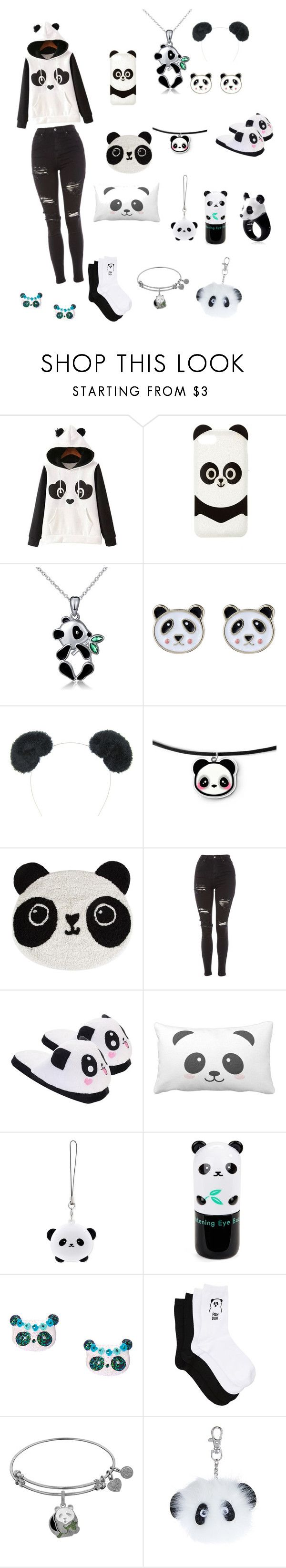 """""""panda"""" by carliesfashions ❤ liked on Polyvore featuring WithChic, Charlotte Russe, Accessorize, Sass & Belle, Topshop, TONYMOLY, Tony Moly and Nach"""
