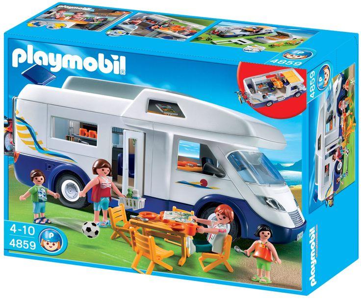 Playmobil - 4859 - Jeu de construction - Grand camping-car familial: Amazon.fr: Jeux et Jouets