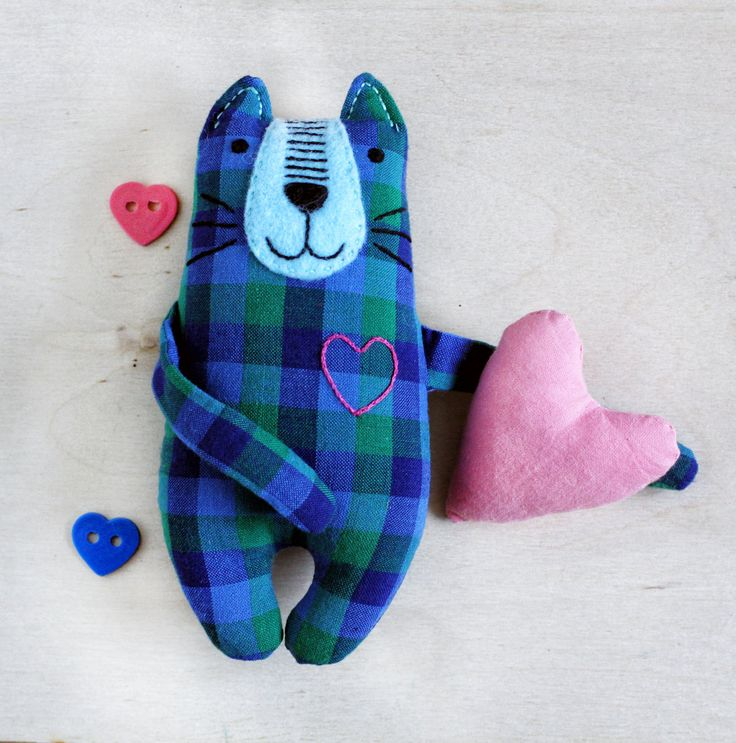 Soft toy Cat, stuffed Cat, handmade Cat, cute Cat toy, stuffed animals, cute handmade Toy, gift for kids, gift for Cat lovers, animal toy by happygiftsUA on Etsy