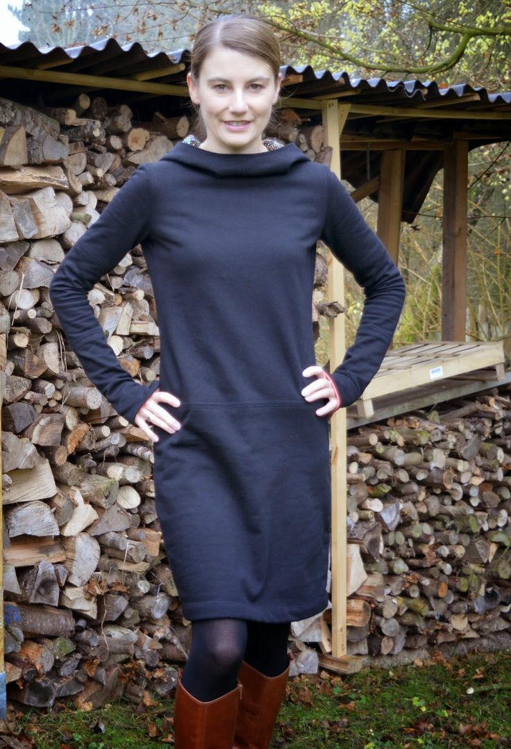 AnniMakes: MMM mit Else-Sweat-Kleid