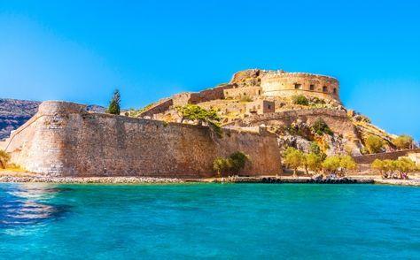 10 visites immanquables en Crète - Presqu'Ile de Spinalonga