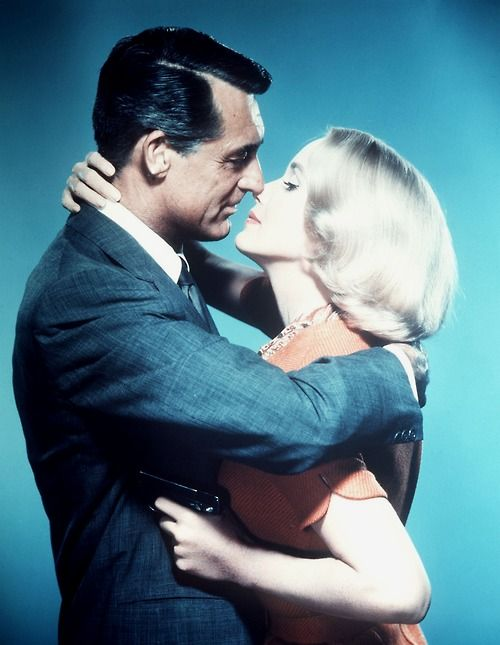 Cary Grant and Eva Marie Saint in North By Northwest, 1959.