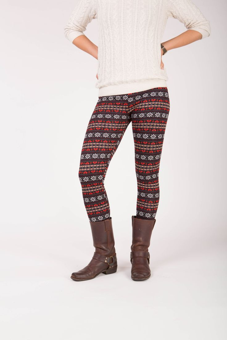 Primrose - Winter warme legging met fleece