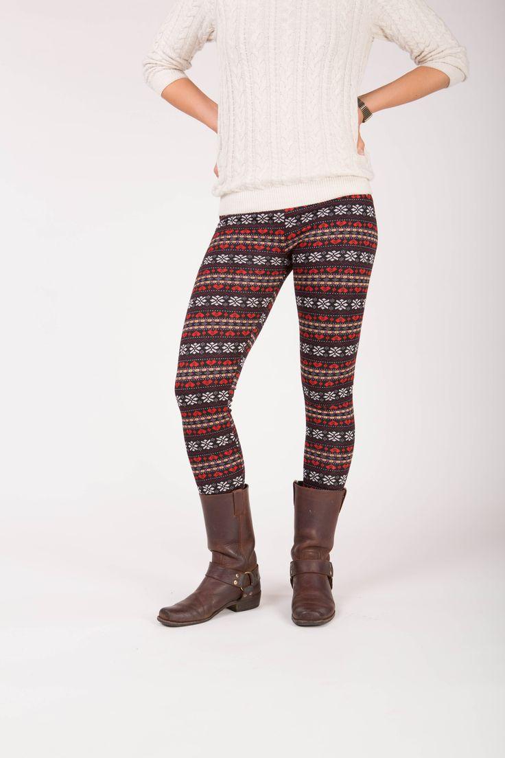 Primrose - Winter warme legging met fleece