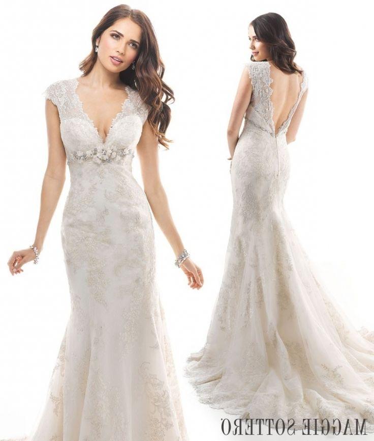 Friday Favorite Lace A Line Wedding Dress Winona Love Maggie Maggie Sottero…