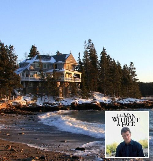 The House From Quot The Man Without A Face Quot Movie In Maine