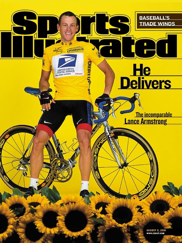 Lance Armstrongs First Tour De France Win