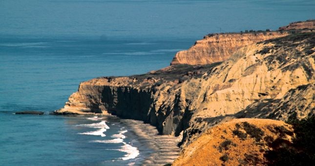 Hike the trails at Torrey Pines.  La Jolla Torrey Pines Scenic View