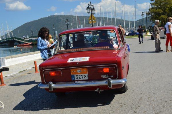 Fiat 124 Coupe. 1972.
