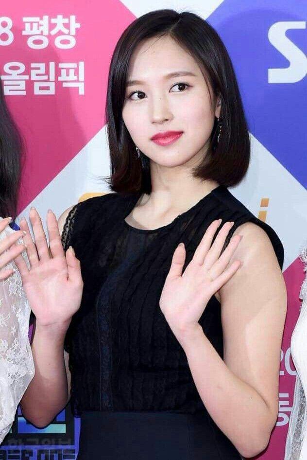 Twice-Mina 171225 SBS Gayo Daejeon