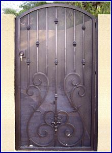 Wrought Iron Special - Exclusively by Olson Iron - Wrought Iron Designs for Residential and Commercial Businesses | Wrought Iron Rails, Gates, Doors, Fencing and Spiral Stairs - Las Vegas, Nevada#down